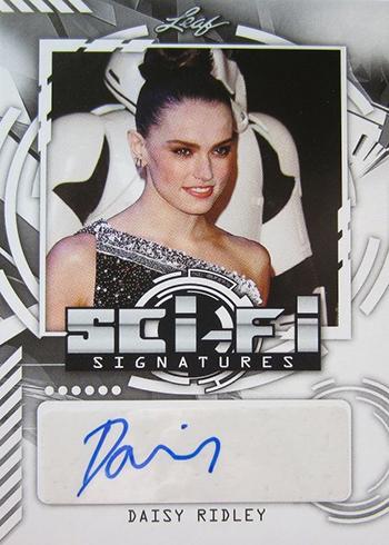 2016 Leaf Pop Century Sci-Fi Signatures Daisy Ridley