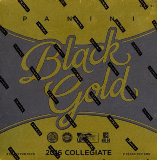 2016 Panini Black Gold Collegiate Football Hobby Box