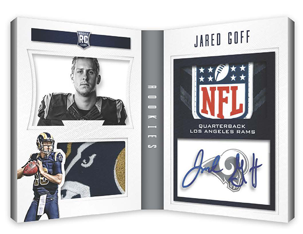 2016 Panini Playbook Football Rookie Playbook
