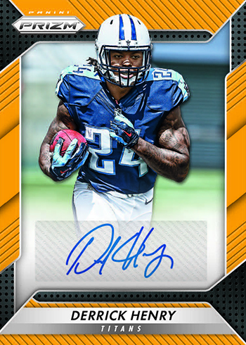 2016 Panini Prizm Football Rookie Autographs Gold