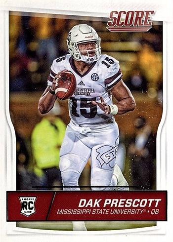 2016 Score Dak Prescott RC