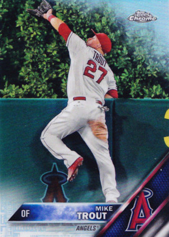 2016 TC Mike Trout