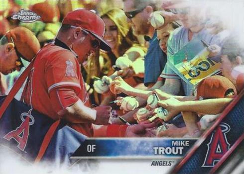 2016 TC Var Mike Trout