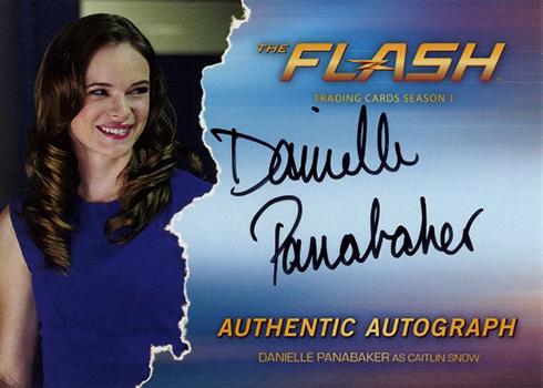 2016 The Flash Season 1 Autographs Danielle Panabaker