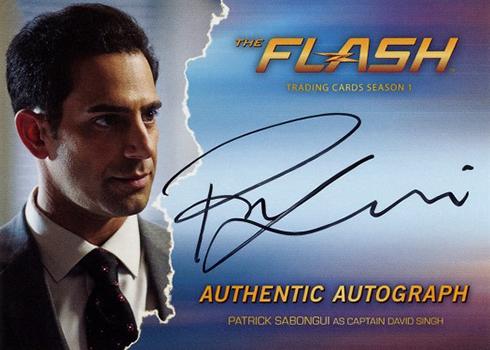 2016 The Flash Season 1 Autographs Patrick Sabongui
