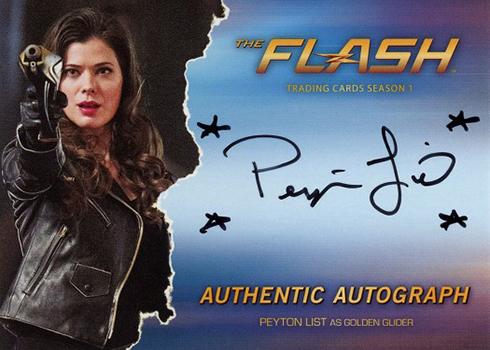 2016 The Flash Season 1 Autographs Peyton List