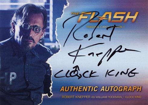 2016 The Flash Season 1 Autographs Robert Knepper