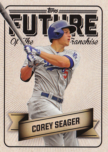 2016 Topps Bunt Future of the Franchise Corey Seager