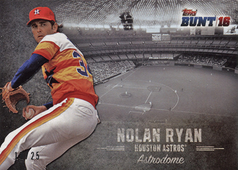 2016 Topps Bunt Stadium Heritage Nolan Ryan