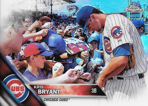 2016 Topps Chrome Baseball Variations 50 Kris Bryant