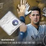388 Gary Sanchez Relic 1/1