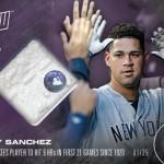 388 Gary Sanchez Relic /25