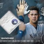 388 Gary Sanchez Relic /49