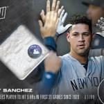 388 Gary Sanchez Relic /99