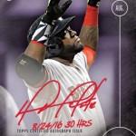 389 David Ortiz Autograph /25