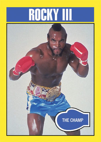 2016 Topps Rocky 40th Anniversary Base Rocky III The Champ