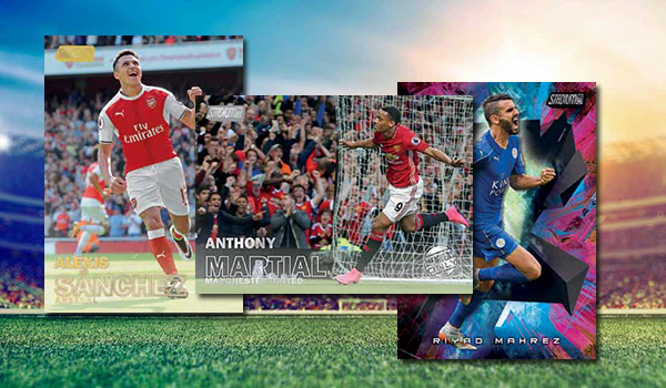 2016 Topps Stadium Club Premier League Soccer Header