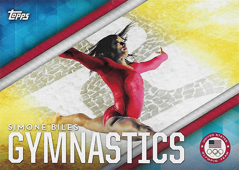 2016 Topps US Olympic Team Disciplines Simone Biles