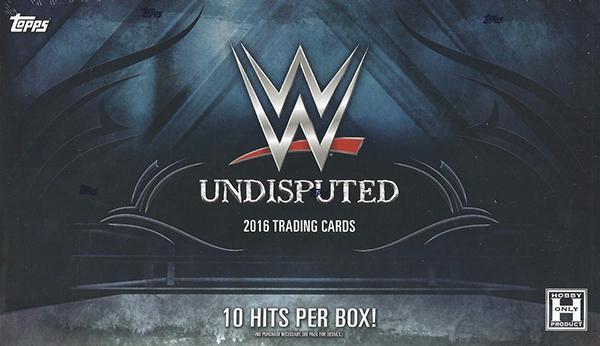 2016 Topps WWE Undisputed Hobby Box