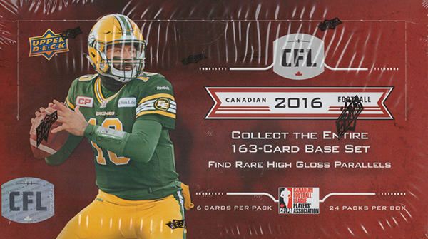2016 Upper Deck CFL Box
