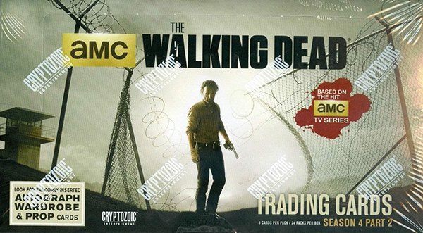 2016 Walking Dead Season 4 Part 2 Box