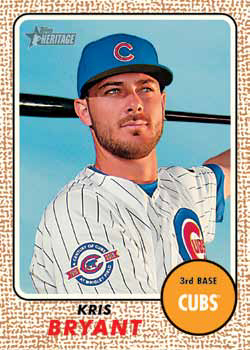 2017 Topps Heritage Chrome Refractor Singles Pick Your Cards