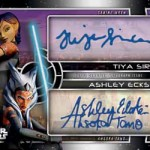 2017 Topps Star Wars Galactic Files Reborn Dual Autograph Rebels