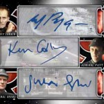 2017 Topps Star Wars Galactic Files Reborn Triple Autograph B