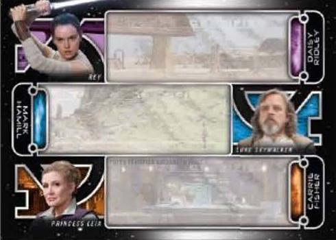 Star Wars Galactic Files Reborn Green Parallel Base Card AOTC-4 Jango Fett