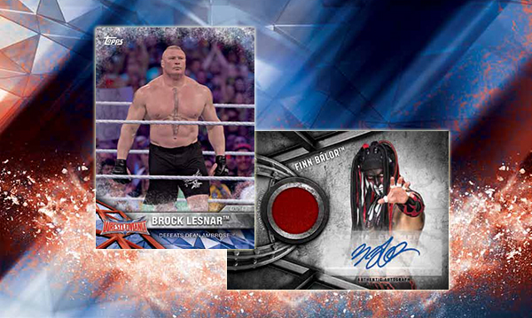 2017 Topps WWE Road to Wrestlemania Header