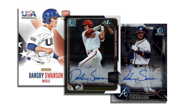 Dansby Swanson Cards Header