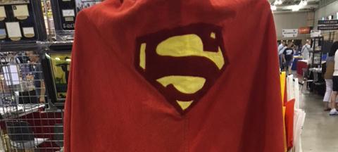 George Reeves Superman Cape Header