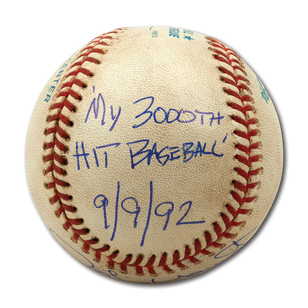Robin Yount 3000 Hit Ball