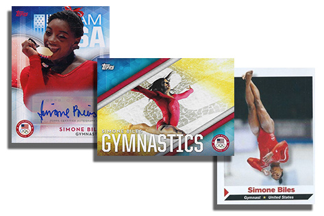 Simone Biles Cards Header
