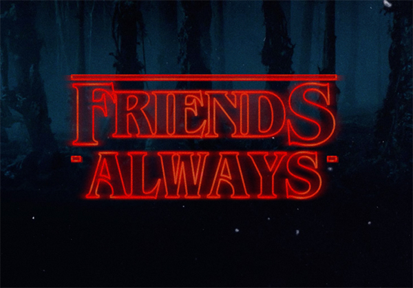 Stranger Things Friends