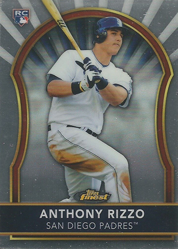 Anthony Rizzo Rookie Cards - 2011 Finest