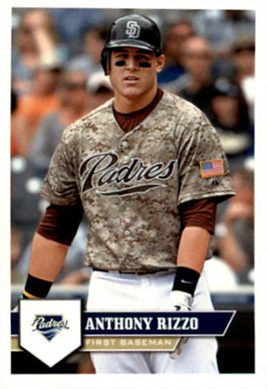 2011 Topps Sticker Anthony Rizzo
