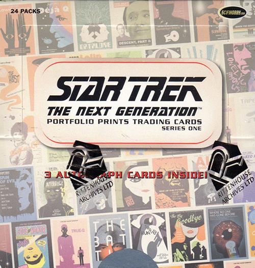 2015 Star Trek TNG Portfolio Prints Series 1 Box