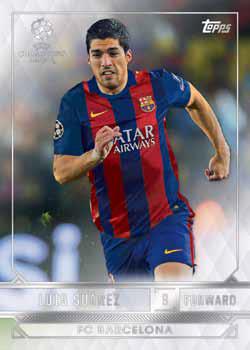 2016-17 Topps UEFA Champions League Showcase Soccer Base B