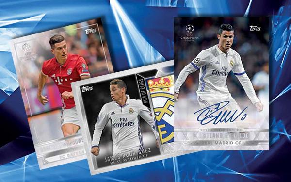 2016-17 Topps UEFA Champions League Showcase Soccer Header