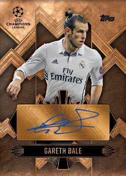 2016-17 Topps UEFA Champions League Showcase Soccer Touch of Class Autograph