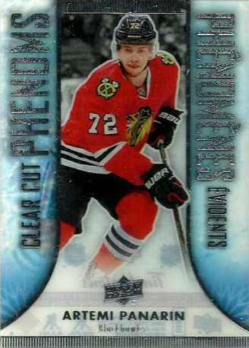2016-17 Upper Deck Tim Hortons Hockey Clear Cut Phenoms Artemi Panarin