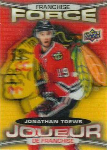 2016-17 Upper Deck Tim Hortons Hockey Franchise Force Jonathan Toews