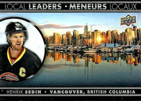 2016-17 Upper Deck Tim Hortons Hockey Local Leaders