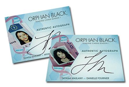 2016 Cryptozoic Orphan Black Season 1 Incentive Autographs Header