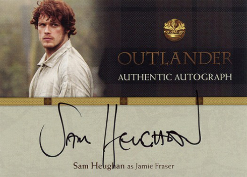 2016 Cryptozoic Outlander Season 1 Autographs Sam Heughan