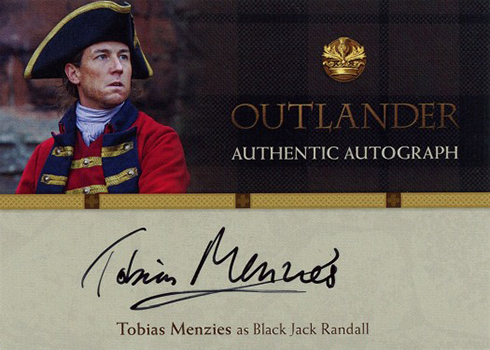 2016 Cryptozoic Outlander Season 1 Autographs Tobias Menzies Black Jack Randall