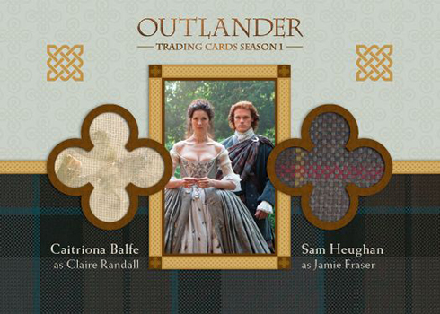 2016 Cryptozoic Outlander Season 1 Dual Wardrobe