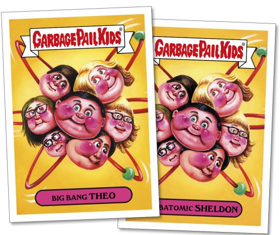 2016 Topps Garbage Pail Kids Prime Slime Fall Preview 1 Big Bang Theory