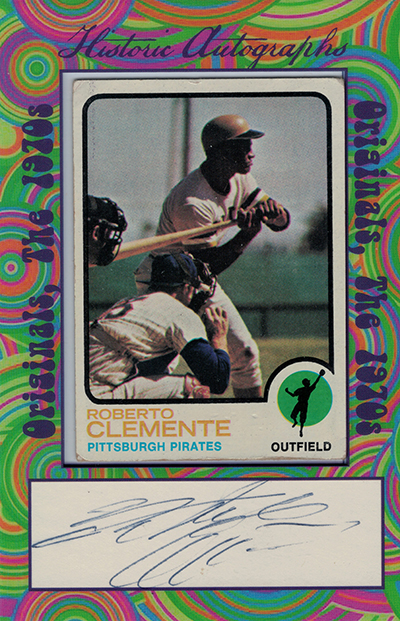 2016 Historic Autographs Originals 1970s Roberto Clemente